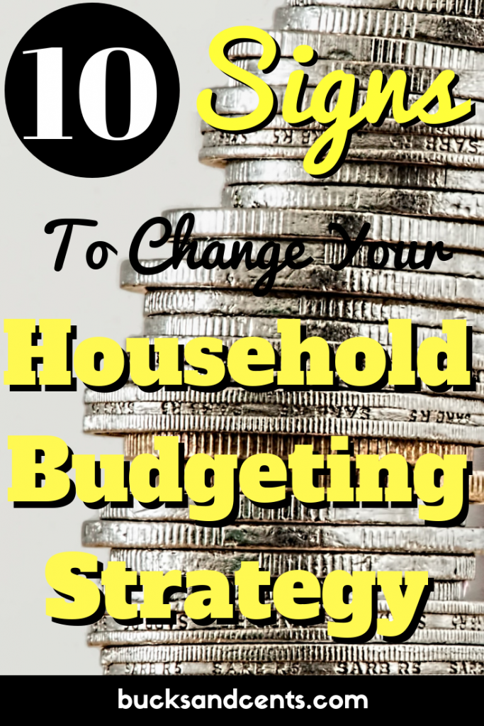household budget categories