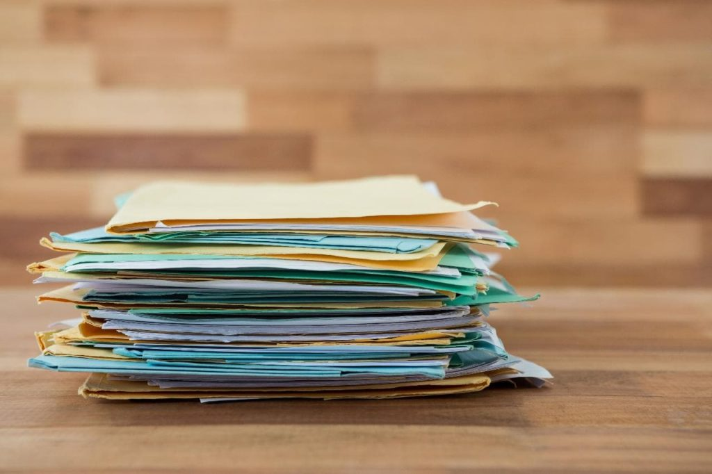 Organize your important household papers