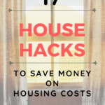 17 Ways How To Save Money On Housing Costs