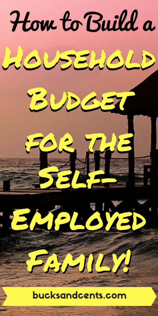 household budget for self employed family