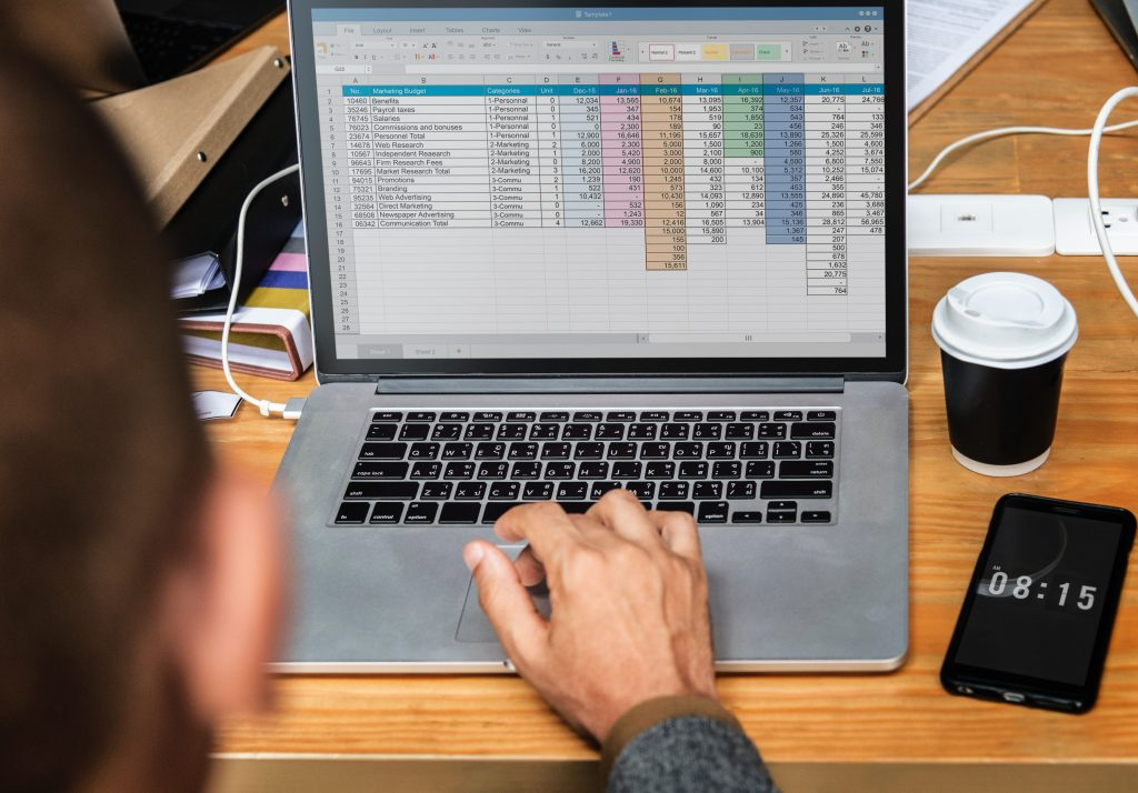 create a budget in excel
