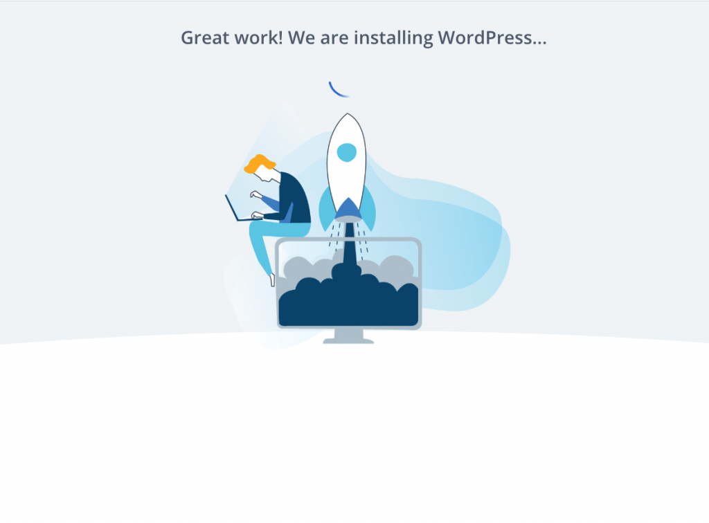wordpress auto-install