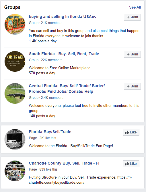 facebook search group