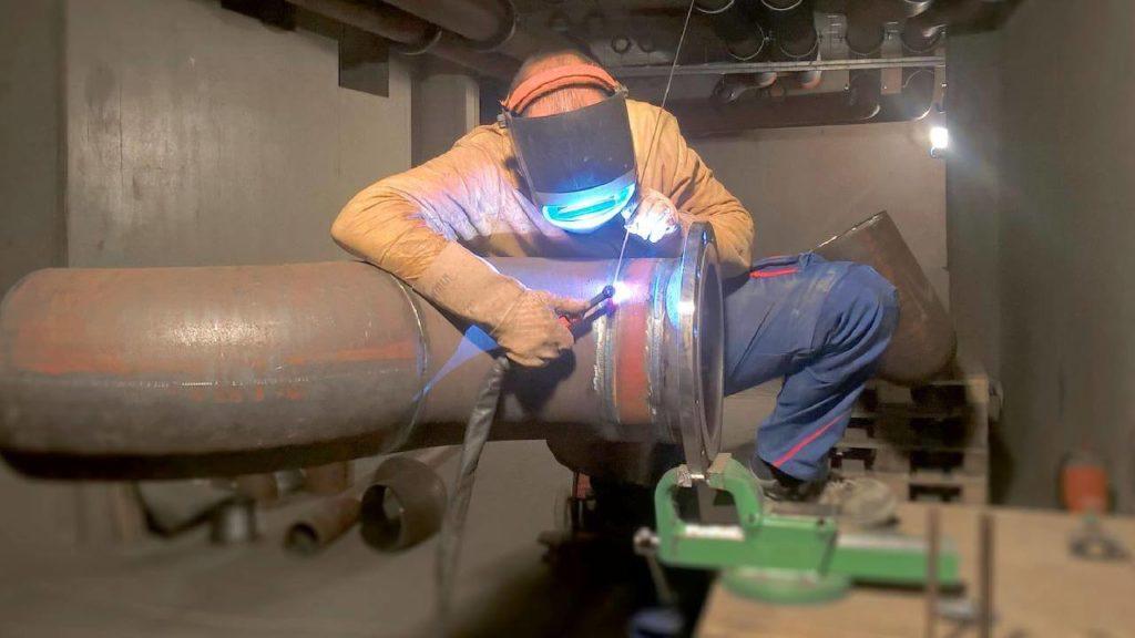 industrial pipeline welder salary
