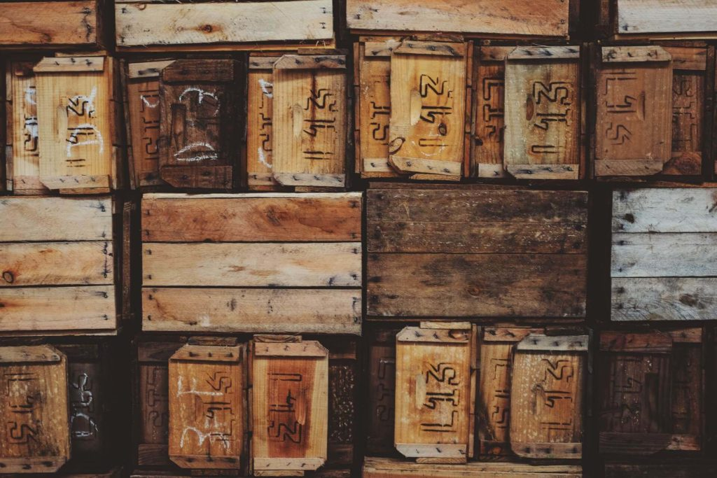 wooden wine crates for free