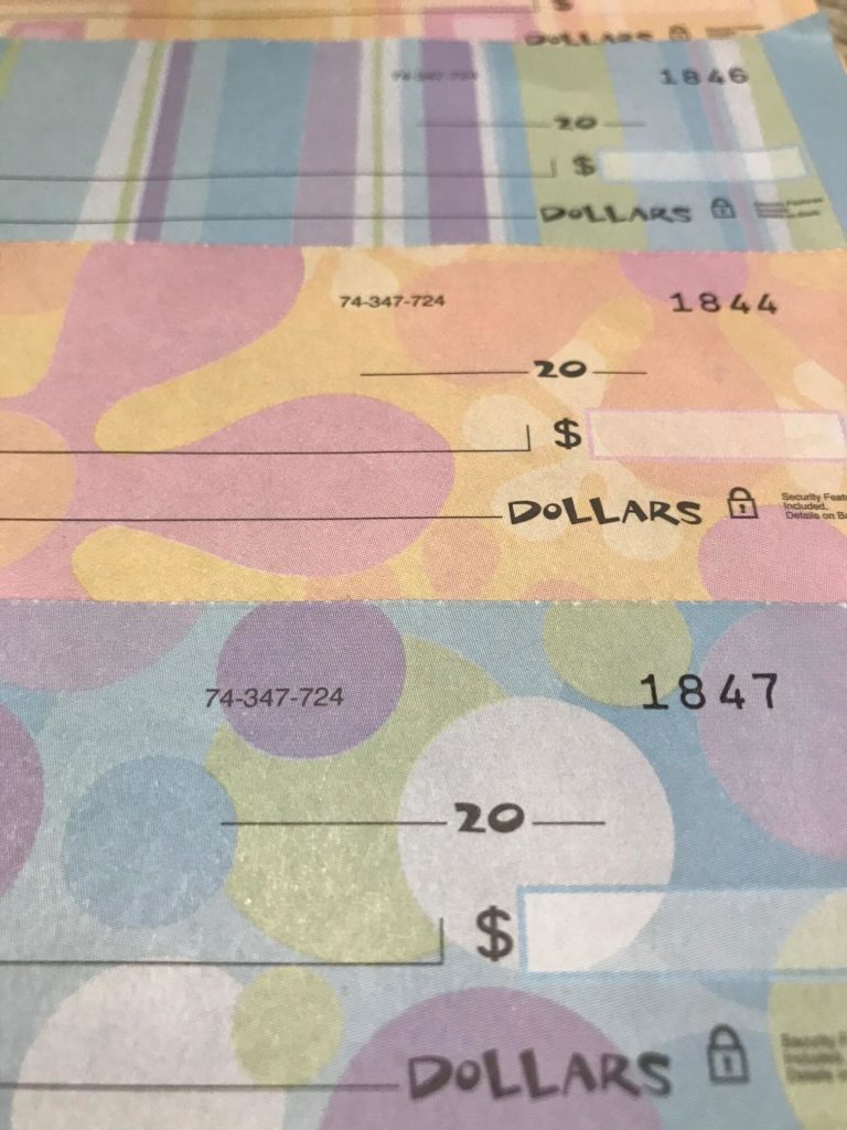 why you should void a check